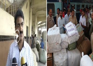 कानपुर में कालिंदी एक्सप्रेस में यूपी GST टीम का छापा, लाखों का माल पकड़ा-रेलवे से ठनी