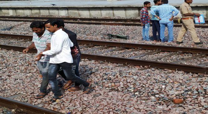 उरई में हाजी दंपति की ट्रेन से कटकर मौत, कानपुर जाते वक्त हादसा