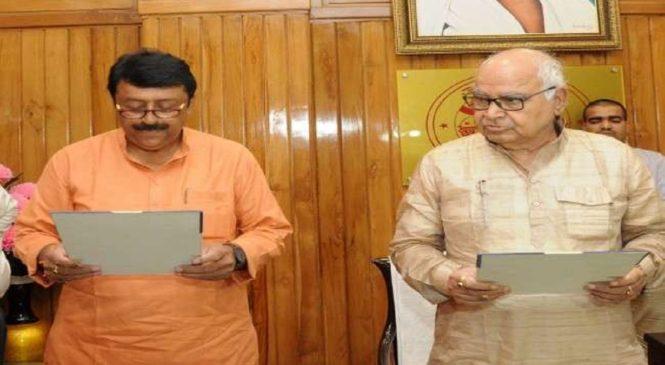 हमीरपुर से विधायक बने युवराज सिंह ने ली शपथ