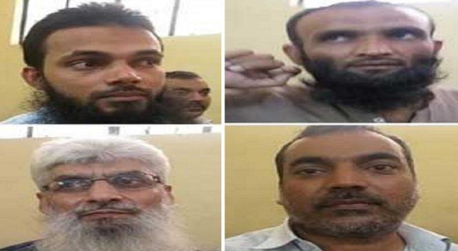 रामपुर में CRPF कैंप पर हमला करने वाले एक पाकिस्तानी समेत 4 को फांसी, 1 को उम्रैकद