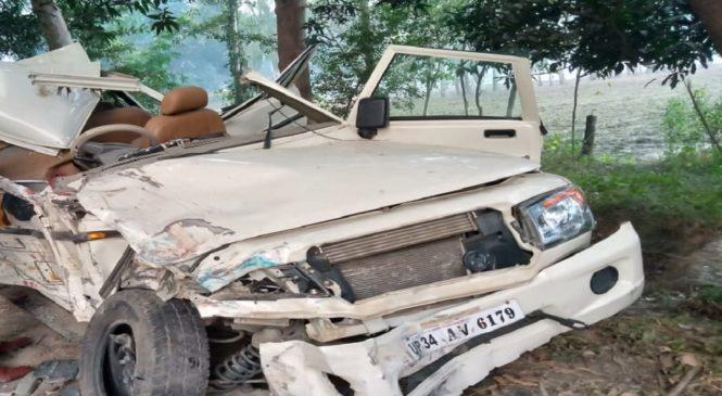 बाराबंकी में हादसा, सीतापुर के मासूम नवजात समेत चार की मौत