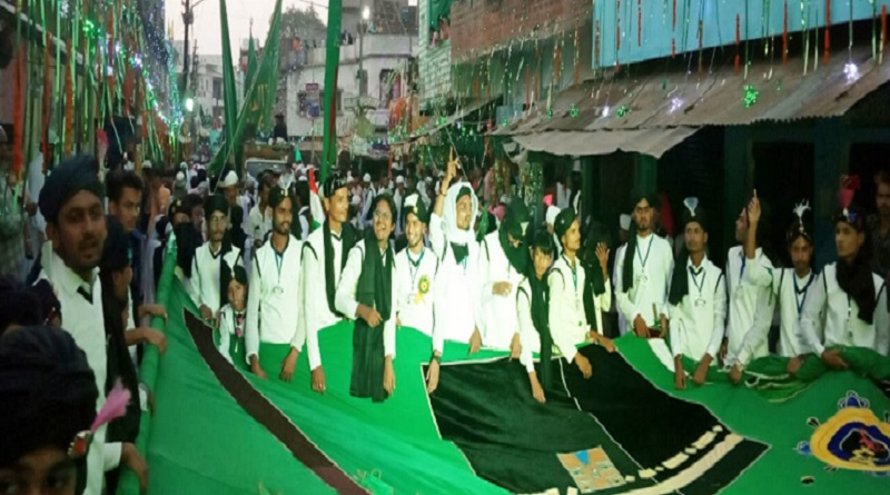 Mohammadi procession marches out in Banda