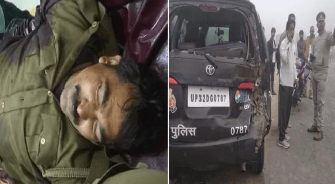 अपडेटः बांदा में डायल-100 के सिपाही को ट्रक ने रौंदा, मौत