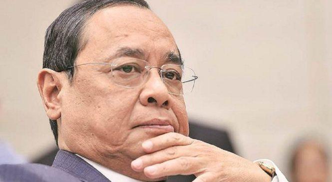अयोध्याः फैसले से पहले CJI गोगोई ने यूपी के मुख्य सचिव-डीजीपी के साथ की अहम बैठक