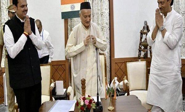महाराष्ट्र में बड़ा राजनीतिक उलट-फेर, फडणवीस फिर बने मुख्यमंत्री