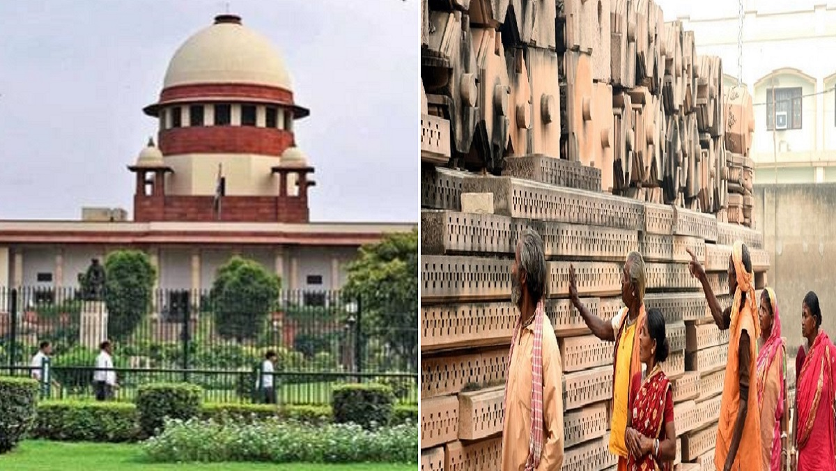 सुप्रीम कोर्टः अयोध्या में विवादित जमीन पर बनेगा राम मंदिर, मस्जिद को दूसरी जगह जमीन
