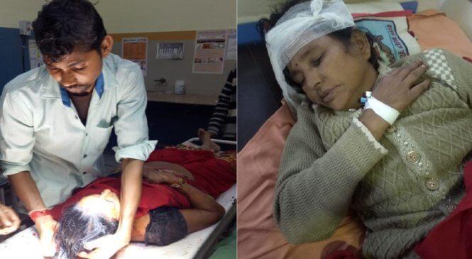 बांदा में आंगनबाड़ी कार्यकत्री पर जानलेवा हमला, हालत गंभीर