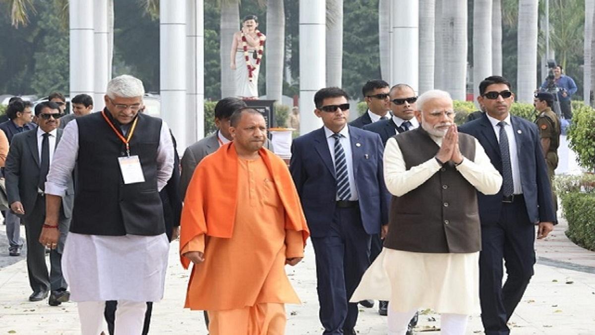 Prime Minister Narendra Modi supervised Ganga with vote
