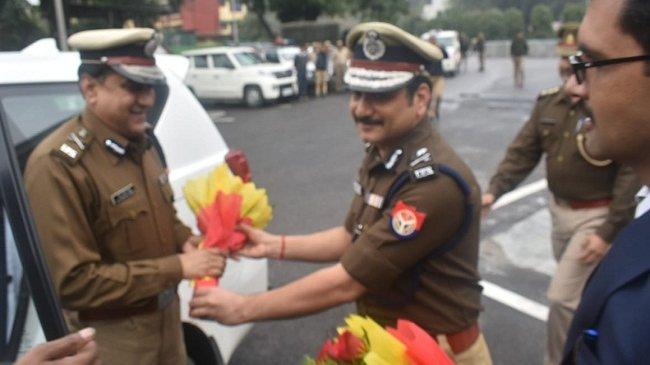 कानपुर के नए एडीजी जय नारायण सिंह ने कार्यभार संभाला