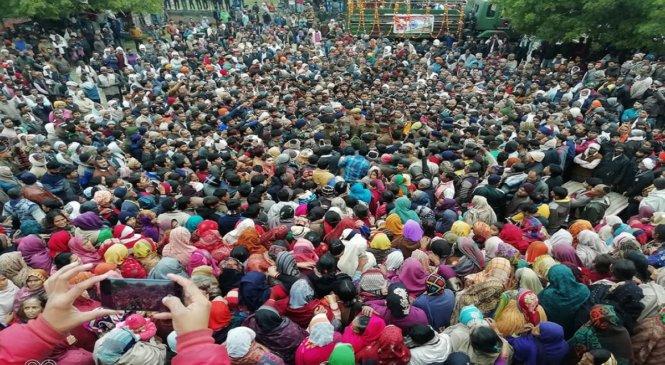कानपुरः कारगिल शहीद धर्मेंद्र को अंतिम विदाई देने उमड़ा जनसैलाब