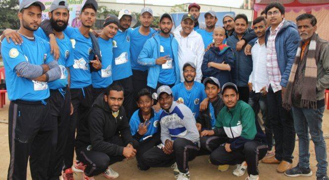 बांदाः स्पोर्ट्स स्टेडियम में हुए क्रिकेट टूर्नामेंट में हुई कांटे की टक्कर