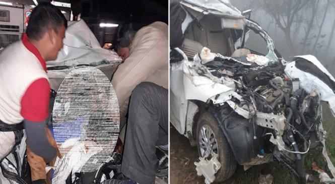 सीतापुर में हादसा, लखीमपुर के व्यापारी समेत 3 की मौत, 1 गंभीर