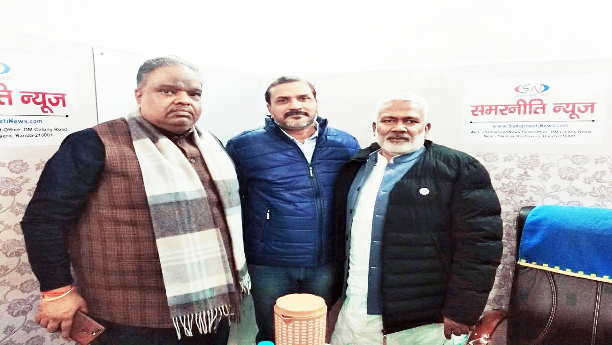 'समरनीति न्यूज' के कार्यालय पहुंचे भाजपा प्रदेश अध्यक्ष स्वतंत्र देव सिंह ने दी बधाई