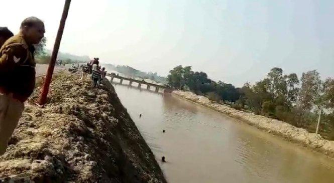 कानपुरः ट्रेन से स्टेशन समझ आउटर पर उतरा किसान, नदी में गिरकर लापता