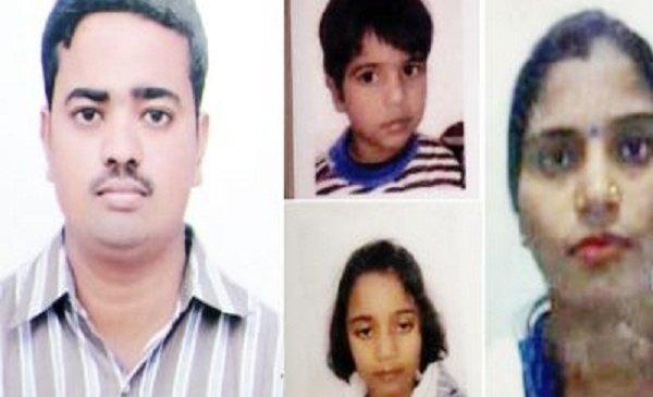 लखनऊ में पत्नी और दो बच्चों की हत्या करके सिरफिरे ने भी दी जान