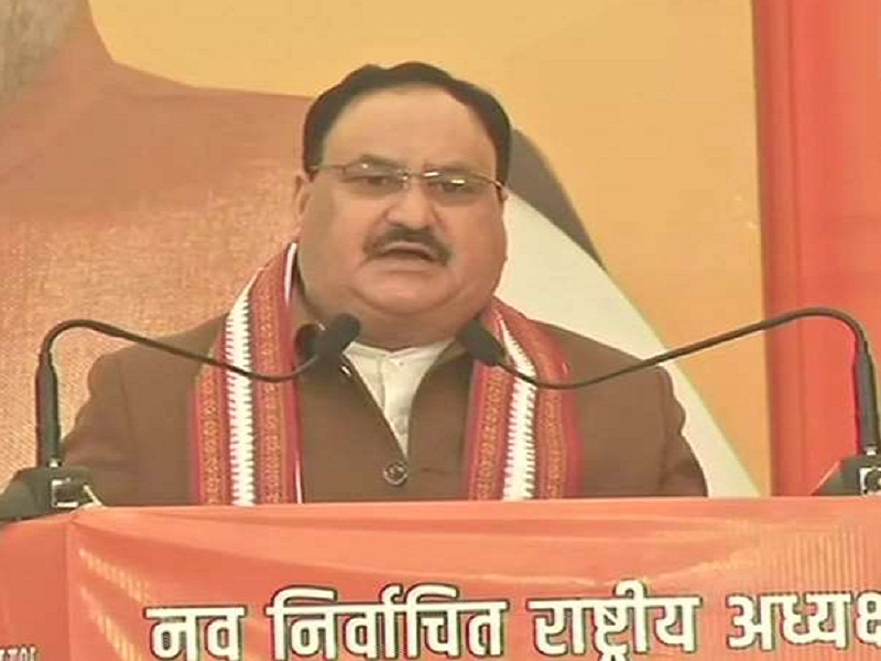 JP Nadda becomes national president of largest party BJP