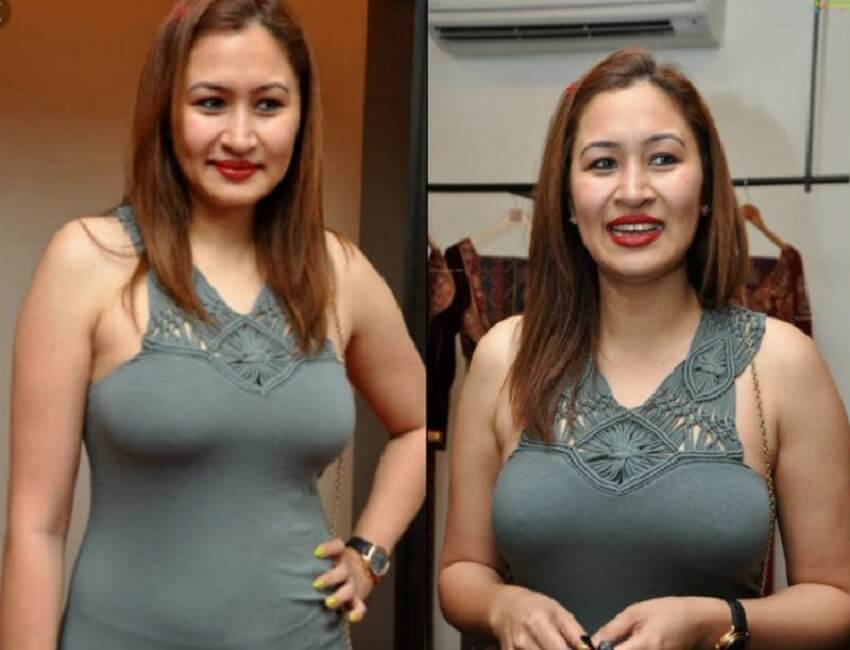 Romantic-hot-sexy photo of badminton player Jwala Gutta