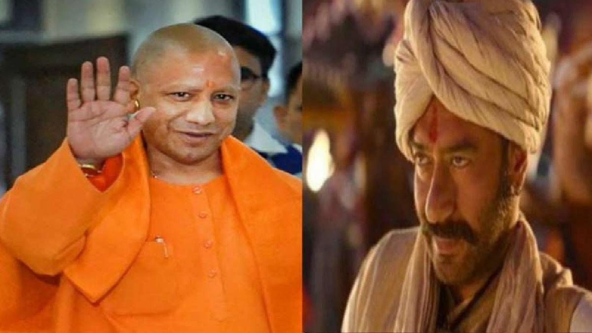 In UP, Yogi government made 'Tanaji' tax free, Ajay Devgan said thanks