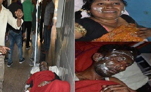 बांदा में जन्मदिन पार्टी में आग में झुलसे 8 लोग, 3 रेफर