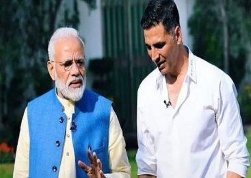 PM मोदी की मुहिम को अब Actor अक्षय कुमार का साथ, 25 करोड़ दान