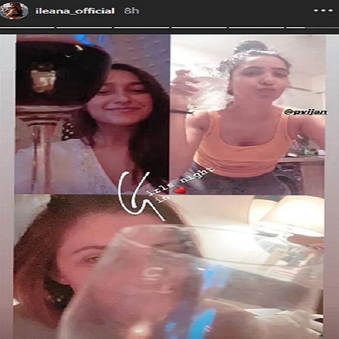 ileana d-cruz goes on a virtual date