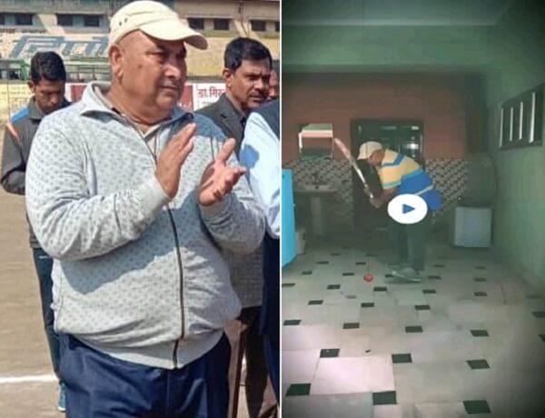 Secretary of Banda Cricket Association and well-known cricket coach Wasif Zaman Khan