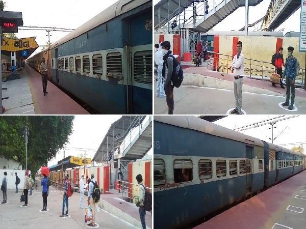 बड़ी खबरः बांदा पहुंची एक और श्रमिक स्पेशल ट्रेन, गुजरात से आए 1900 से ज्यादा प्रवासी मजदूर