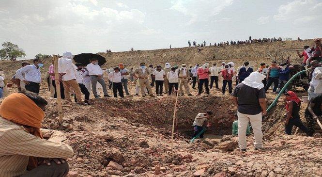 बांदाः तालाब में खजाने की सच्चाई पता करने पहुंची पुरातत्व विभाग की टीम
