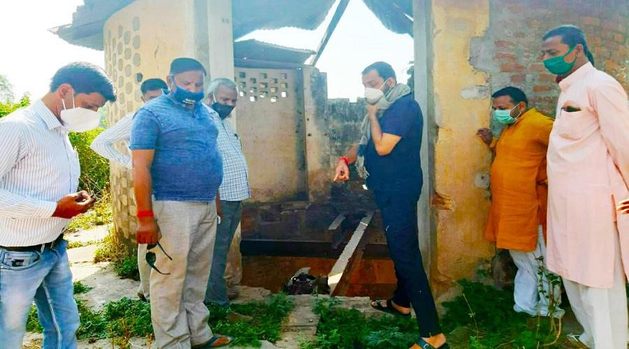 Banda mla prakash dewedi know water problem in Banda
