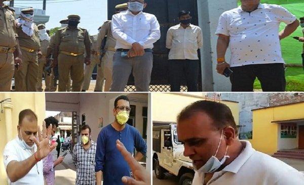 लाॅकडाउन तोड़ने पर बांदा के बाल रोग विशेषज्ञ डाक्टर नरेंद्र गुप्ता गिरफ्तार, डीएम का तगड़ा एक्शन