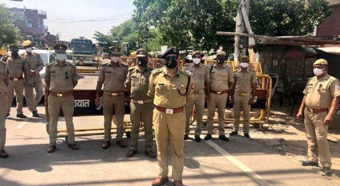 लाॅकडाउन-4ः बांदा में DIG दीपक कुमार शहर में निकले, अधीनस्थों के पेंच कसे