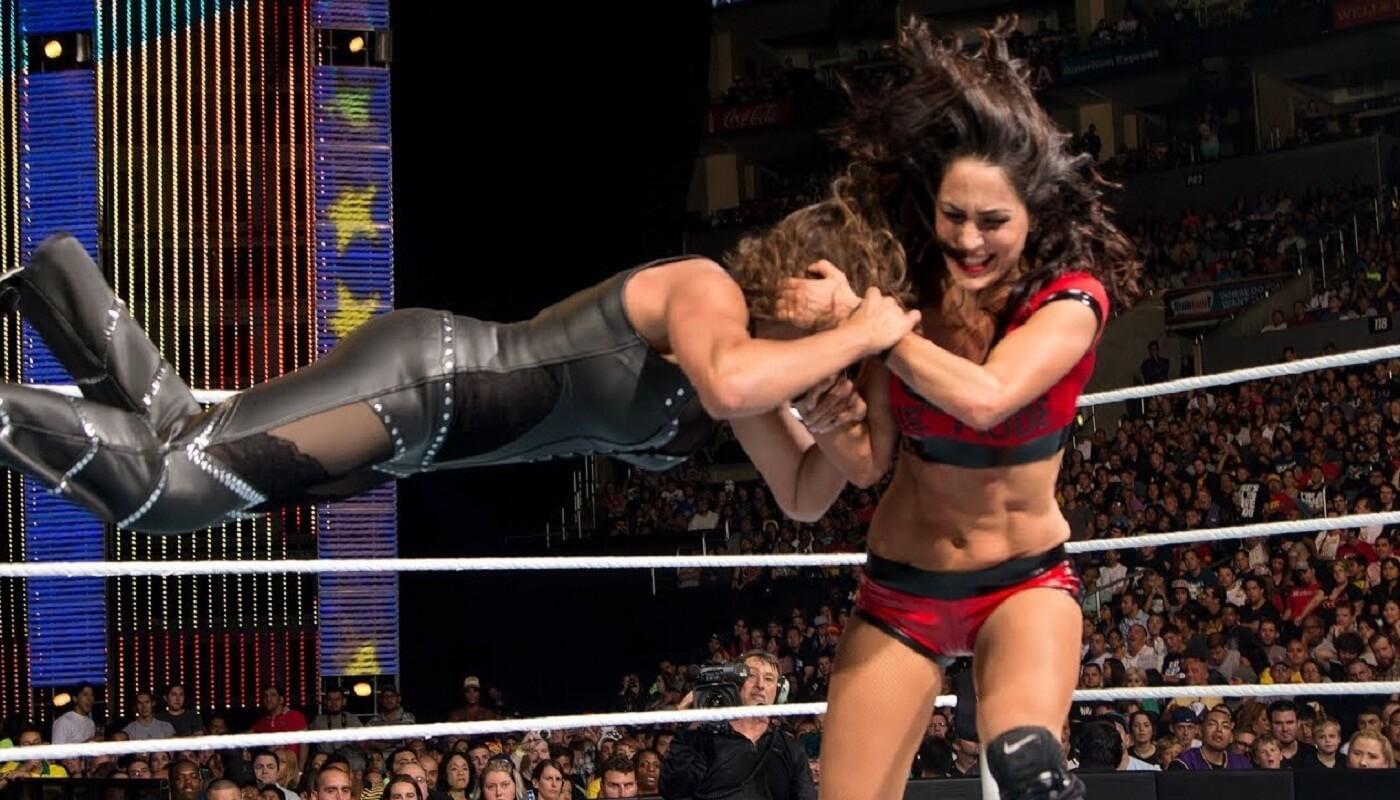 WWE female wrestler Nikki Bella raped twice in school
