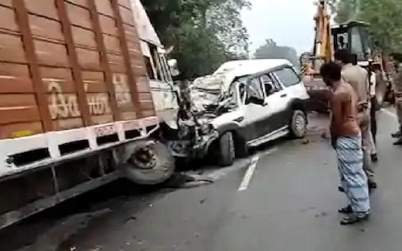 यूपी में भीषण हादसा, 9 लोगों की मौत, CM योगी ने दुख जताया