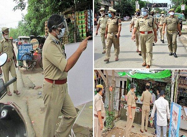 बांदा DIG दीपक कुमार की दो टूक, अब मास्क-सोशल डिस्टेंसिंग में लापरवाहों पर होगी सख्ती