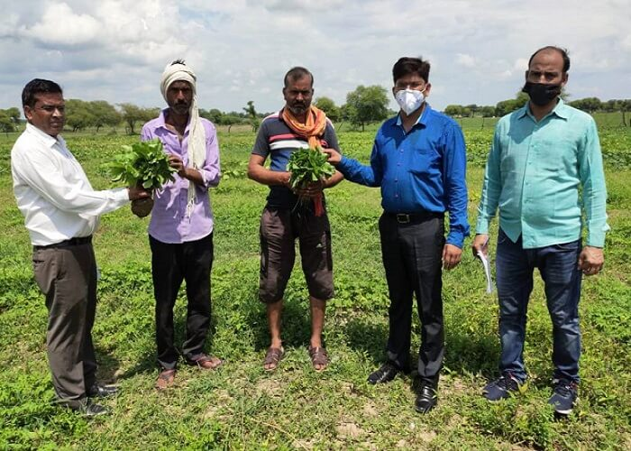 team of Agricultural University scientists conducted survey