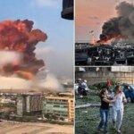 लेबनाम की राजधानी बेरूत में एटम बम जैसा धमाका, 70 मरे, 4 हजार से ज्यादा घायल