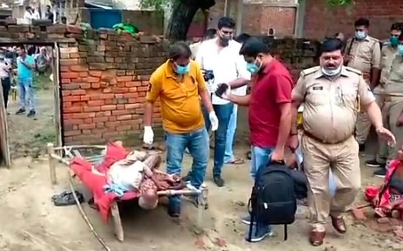 Breaking News: Old man was strangled to death while sleeping at home in Kanpur