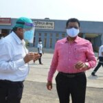 Banda DM surprise inspection of Kovid Center, said special thing