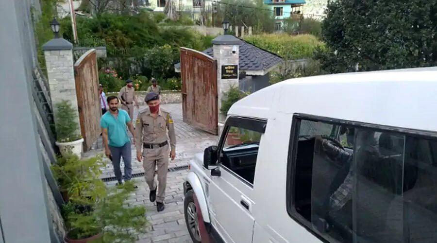 Commandos arrived at Bollywood actress Kangana's house, took over security