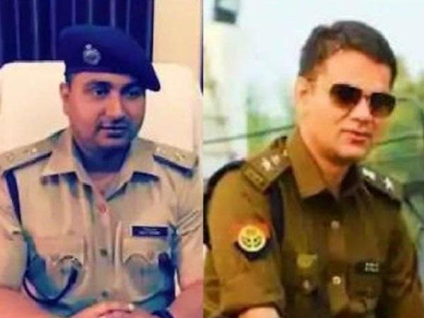 fir against ips himanshu kumar and ajay pal sharma