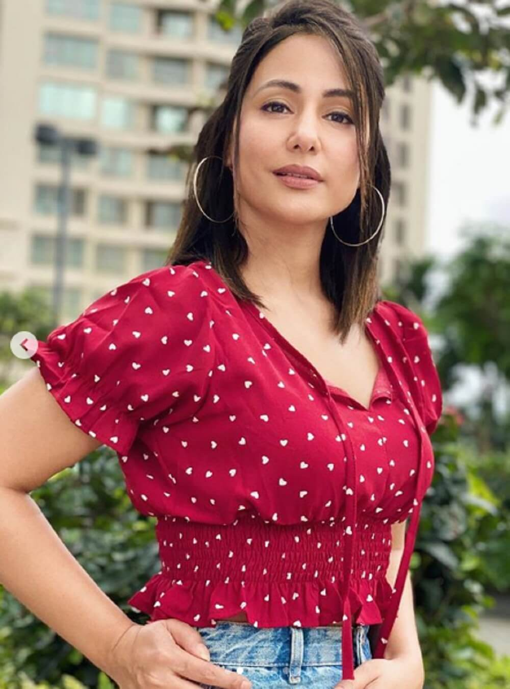 Bollywood actress Hina Khan's bold-beautiful photos rocked