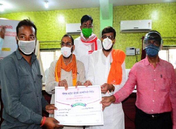 बांदा में 2279 लाभार्थियों का ऋण स्वीकृत, स्वीकृति पत्र वितरित