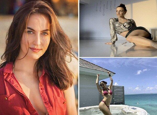 Actress एली एवराम ने फिर इंटरनेट का बढ़ाया तापमान, Bold Photos शेयर कीं