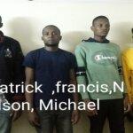 UP STF : भारतीयों को 1 अरब का चूना लगाने वाले 4 नाईजीरियन गिरफ्तार