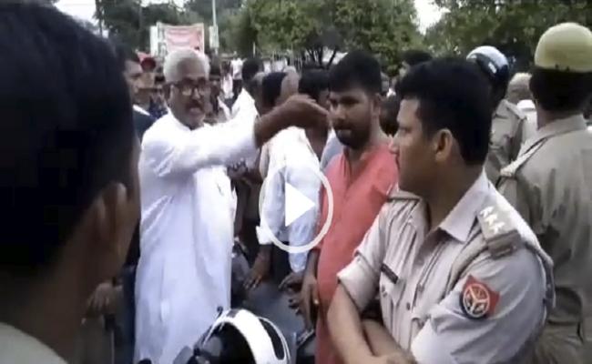 भाजपा जिला उपाध्यक्ष को भारी पड़ा पुलिस से उलझना, दरोगा ने ठोका काम में बाधा का मुकदमा