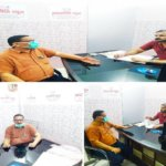 'समरनीति न्यूज' के कार्यालय में सिटी मजिस्ट्रेट सुरेंद्र सिंह, पढ़िए- दो टूक बातचीत..