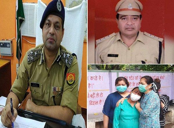 बांदा DIG दीपक कुमार अपने CO देवेंद्र मिश्रा की शहादत से बेहद दुखी