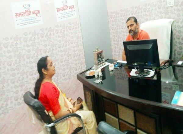 'समरनीति न्यूज' कार्यालय पहुंचीं महिला आयोग सदस्या प्रभा गुप्ता, महिलाओं पर कही बड़ी बात