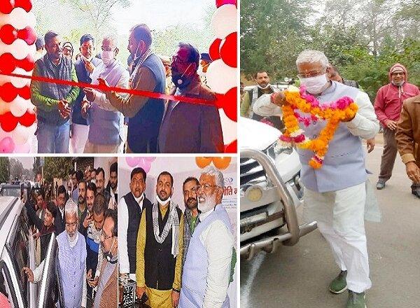 भाजपा प्रदेश अध्यक्ष स्वतंत्र देव सिंह ने 'समरनीति न्यूज' कार्यालय का किया उद्घाटन, विश्वसनीयता-निष्पक्षता को सराहा