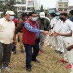 बांदा सिटी मजिस्ट्रेट ने किया क्रिकेट ट्रायल का शुभारंभ